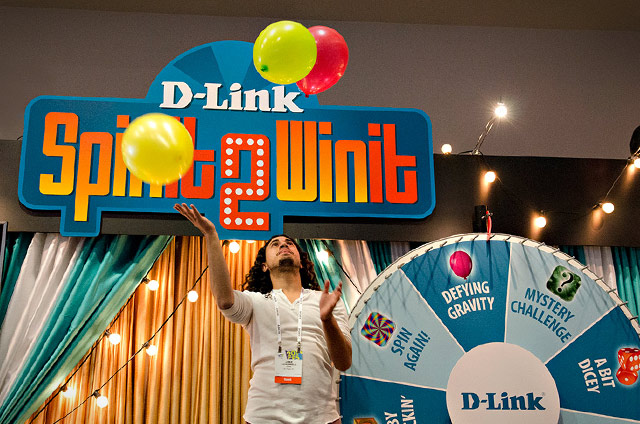 CES Customer Activation Activity for D-Link at CES 2014