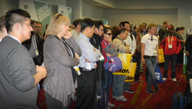 CES Crowds Gather at D-Link Trade Show Exhibit