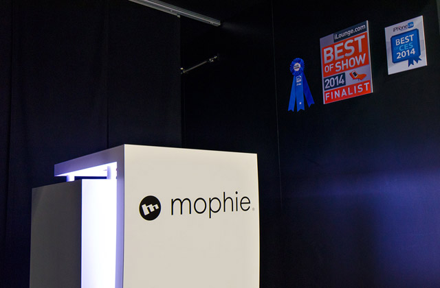 Mophie Tradeshow Exhibit at CES